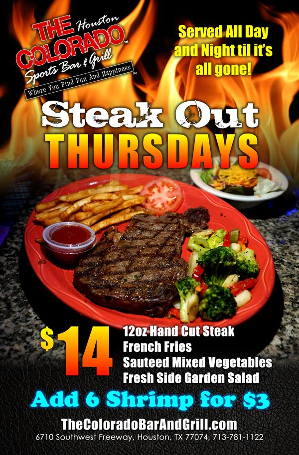 Steak out Thursdays