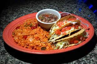 Crispy Tacos Chicken or Beef