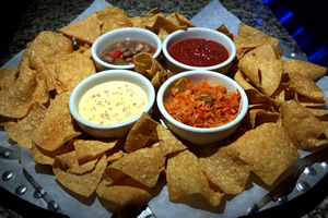 Queso Chips and Salsa