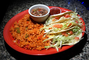 Soft Tacos Chicken or Beef