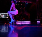 Dancers on the Pole and the Stage